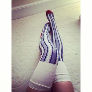 Free People thigh high socks